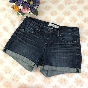 L.O.G.G. cuffed denim shorts